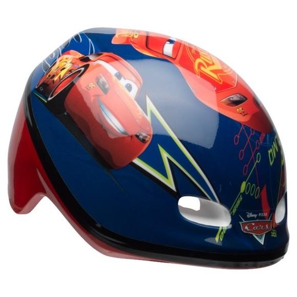 Disney Pixar Cars McQueen Bike Helmet